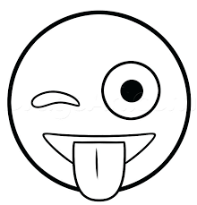Collection Of Coloring Pages Emoji Faces