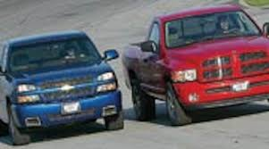 Road Test: 2003 Dodge Ram 1500 SLT Hemi Vs. Chevrolet Silverado SS ...