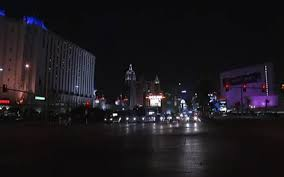 LAS VEGAS – Many of the Las Vegas Strip s bright lights dimmed at