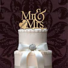 Rustic Mr And Mrs Wedding Cake Topper Monogram Decor
