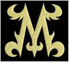 Unique Letter M Design Free Embroidery Designs Cute Embroidery
