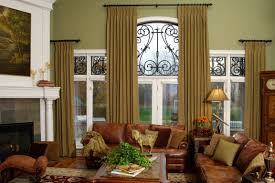 Living Room Curtain Ideas Brown Furniture by Decorating Cream Martha Stewart Curtains With Costco Windows And