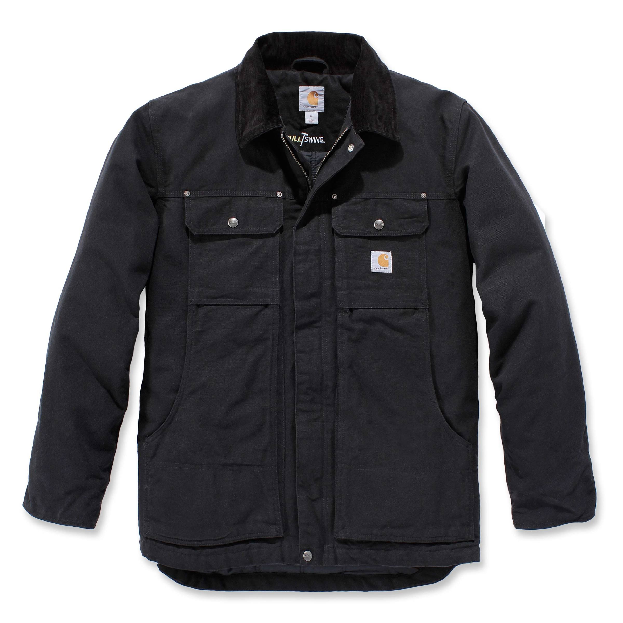 Carhartt Full Swing Traditional Coat, Men's Black