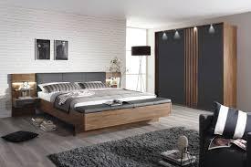 4 tlg schlafzimmer eiche striling nb glas grau