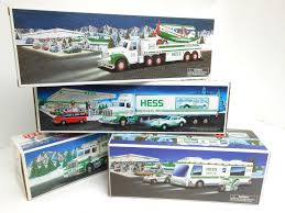 Lot Of (4) HESS Trucks - 1992 - 1995 - 1998 - 2002 - All MIB ... Hess Truck Empty Boxes Toy Store Jackies 58 X 46 Hess Truck 1998 Creation Van Dune Buggy Motorcycle Tanker Truck Etsy Miniature Tanker Mint Ebay Amazoncom 2013 Tractor Toys Games Miniature Tanker First In A Series Mib Trucks 2018 Top Car Release 2019 20 Trucks Roll Out Every Winter Bring Joy To Collectors The 1499 Pclick Texaco Wings Of Mini 1991 Toy With Racer