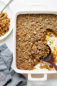 Pumpkin Pie With Streusel Topping Southern Living by Sweet Potato Casserole With Brown Sugar Topping Recipe Pinch Of Yum