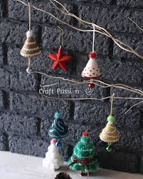 Saran Wrap Christmas Tree With Ornaments by Christmas Tree Ornament Diy Tutorial Craft Passion