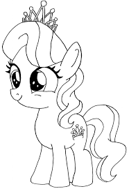 Free My Little Pony Coloring Pages For Kids