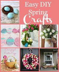 Easy DIY Spring Crafts