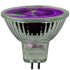 120v 50w purple halogen mr16 flood light bulb 120v50 mr16 purple