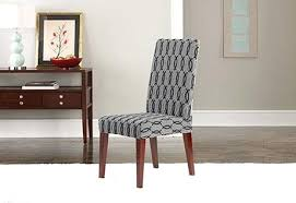 Cover Dining Chair Sure Fit Covers Stretch Short Concerning Outstanding