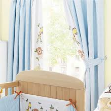 Yellow And White Curtains For Nursery by Sweet Safari Nursery Blackout Pencil Pleat Curtains Dunelm