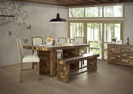 Rustic Alamo Counter Height Table 3030 Dining W Wood Base 88 X 46 36h 899 Solid Bar Chair Fabric 19 24 46h 219