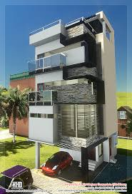 3 Floor Contemporary Narrow Home Design   House Design Plans Modern Home Design In India Aloinfo Aloinfo 3 Floor Tamilnadu House Design Kerala Home And 68 Best Triplex House Images On Pinterest Homes Floor Plan Easy Porch Roofs Simple Fair Ideas Baby Nursery Bedroom 5 Beautiful Contemporary 3d Renderings Three Contemporary Narrow Bedroom 1250 Sqfeet Single Modern Flat Roof Plans Story Elevation Building Plans