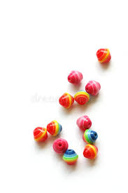 Download Beads For Handicrafts Stock Photo Image Of Girl Child