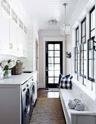 Mesmerizing Nantucket Inspired Coastal Cottage On Lake Rosseau Mud Rooms Laundry RoomsSmall