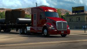 100 Trucking Simulator American Truck Hauling On The Dirt Road My Experience