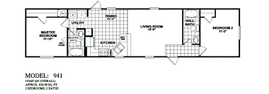 Fleetwood Triple Wide Mobile Home Floor Plans by Mobile Home Floor Plans Likewise Solitaire Homes Kelsey Bass