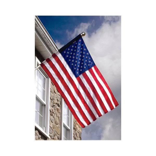 Valley Forge American Flag Kit 2-1/2 ft. H x 4 ft. W