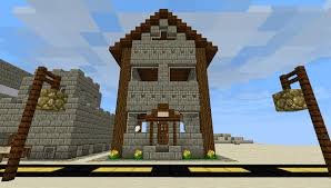Minecraft Pumpkin Farm Tower by 2 Story Pre Built House For 3k Ecocitycraft Economy Top