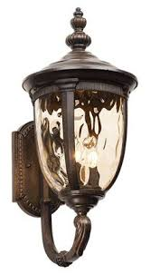 shop portfolio brayden 20 25 in h mystic black outdoor wall light