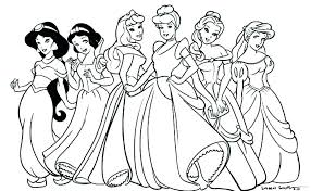 Baby Disney Princess Coloring Pages Printable Free
