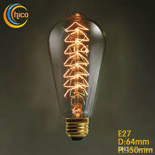 incandescent vintage edison light bulb led light bulb vintage
