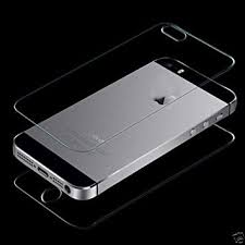 Apple iPhone 5 5s 2 in 1 Premium Tempered Glass Screen Amazon