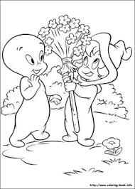 Casper Coloring Picture Halloween PagesKids