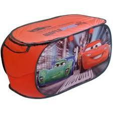 coffre à jouets panier de rangement disney cars flash mcqueen top