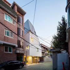100 Houses In South Korea Beautiful Fighting House By Studio_suspicion In
