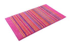 esprit badteppich cool stripes pink badematten set