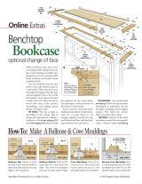 how to build a bookcase with free bookcase plans