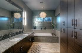 Chandelier Over Bathroom Vanity by 40 Modern Bathroom Design Ideas Pictures Designing Idea