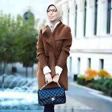 Tan Trench Coat Hijab Chic