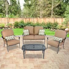 Boscovs Patio Furniture Cushions by Edington Replacement Cushion Set Garden Winds