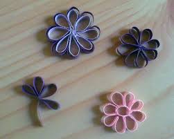 How To Make A Flower With Paper Strips