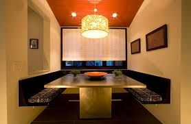 Kitchen Diner Booth Ideas by 25 Trendy Dining Rooms With Spunky Orange