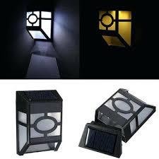solar l for garden solar powered wall mount 2 led light l
