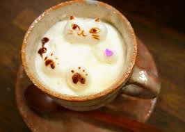 Incredible Latte Art At Tokyos Oshiage Nyanko Cafe