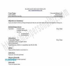 High School Job Resume Examples Printable Blank Templates In Word For Students Or Graduates