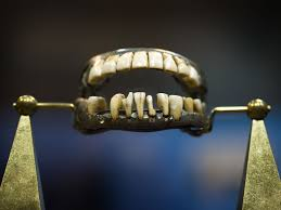 Washingtons Teeth Were Made Of A Lot Things But Not Wood