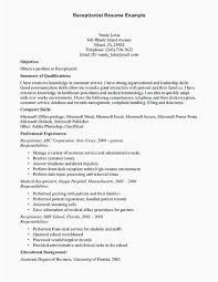 Welder Resume Sample For Receptionist With No Experience Examples Welding