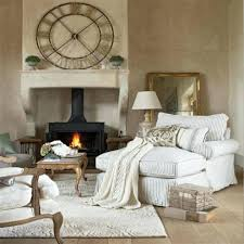 French Country Chaise Lounge Living Rooms Regarding ...