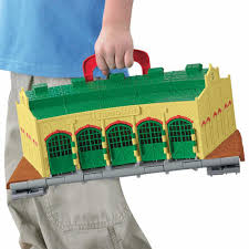 Tidmouth Shed Deluxe Set by Thomas U0026 Friends Take N Play Tidmouth Sheds Playset 33 00
