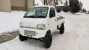 100 Suzuki Mini Trucks 1999 EFI Carry DIFF LOCK 4 Lift Street Legal Atv