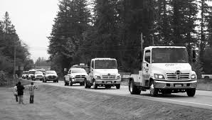 Tow Truck Dispatcher Honored With Convoy At Funeral | Port Townsend ...