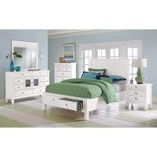 American Signature Furniture Charleston Bay White II Bedroom