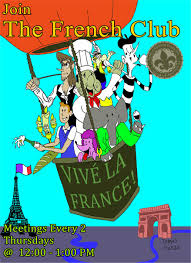 French Club Poster By DeviartTAG