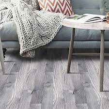 VanBest 3D Self Adhesive Flooring Stickers Simulation Wood Decals Waterproof Kitchen Bedroom Living Room PVC